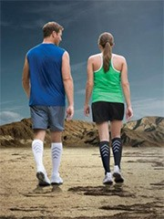 Womens' Athletic Recovery Socks